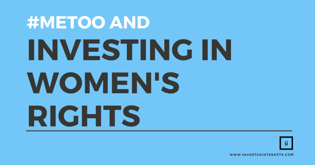 #metoo and investing in women's rights