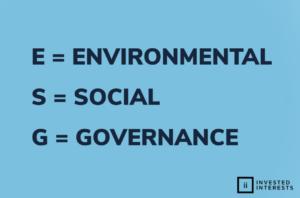 Definition of ESG