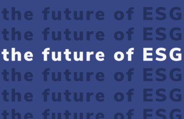 THE FUTURE OF ESG
